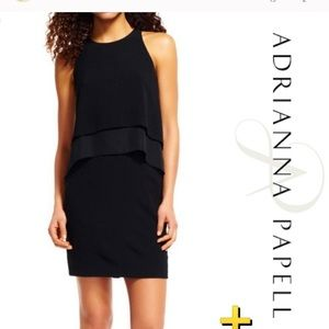 Black Adrianna Papell Dress